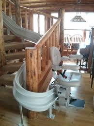 curved stair chair lift. Photo 2 Of 5 Chair Lift For Curved Stairs Stair Design And Options ( #