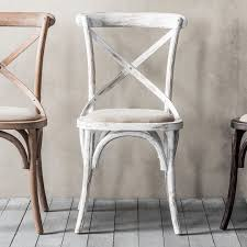 french dining chairs. Café Chair White (2pk) French Dining Chairs L