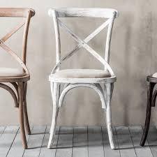 café chair white 2pk