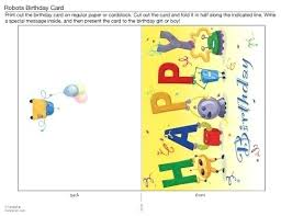 Happy Birthday Card Printable Template Birthday Card Template Free Printable Developmentbox