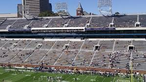 Bobby Dodd Stadium Lower Level Sideline Football Seating