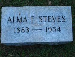 Alma Fink Steves (1883-1954) - Find A Grave Memorial