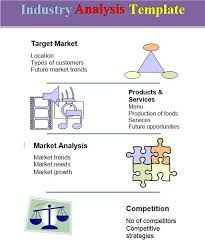 industry analysis template market analysis template market analysis template 5 free word pdf