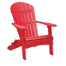 alabama oversized adirondack chair foldable hdpe plastic lumber scarlet red