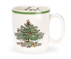 Dining Room Spode Dinnerware  Spode Christmas Tree History Spode Christmas Tree Cereal Bowls