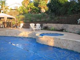Backyard Pool Landscaping Pools Built On A Slope Project Final Pics O Backyard