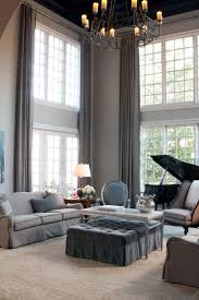 Modern Window Treatment For Living Room Curtains At Great Low Bring Style To A Living Room With Long Or