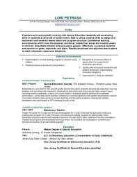Resume Formats For Teachers Musiccityspiritsandcocktail Com