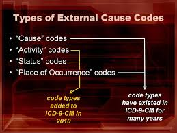 occurrence codes code types added to icd 9 cm