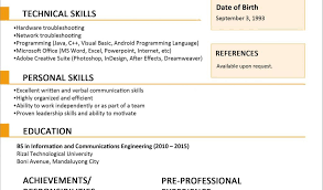 Resume Samples Format Free Download With Sample Resume Format Sample