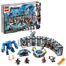 Because of this, i have not collected the lego®. Lego Marvel Avengers Iron Man Hall Of Armor 76125 Gamestop