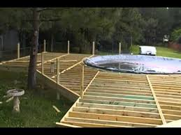 Decks For Above Ground Pools  Portable Deck Pool Prices