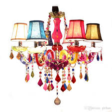longree holiday party decor colorful glass table candle chandelier crystal flat chandelier light chandeliers ceiling arms crystal res hanging lamp shade