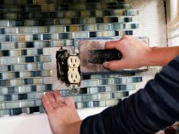 secure tiles on to wall