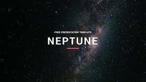 Space Google Slides Theme Neptune Free Powerpoint Template