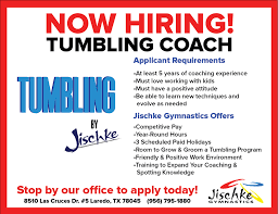 gymnastics coach jobs