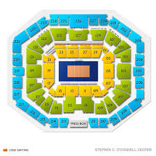 O Connell Center Seating Chart Stephen C Oconnell Center 2019 Seating Chart