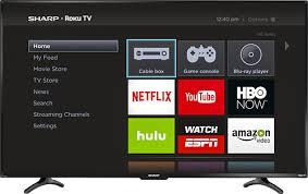sharp smart tv remote. sharp - 55\ smart tv remote