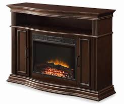cherry fireplace tv stand awesome 48 cherry console electric fireplace at