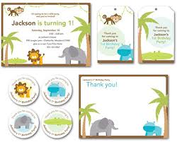 Free Printable Safari Birthday Invitations New Theme Jungle Safari Party Chickabug
