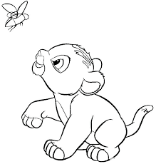 lion king coloring pages baby lion colouring pages printable coloring printable the lion king coloring pages