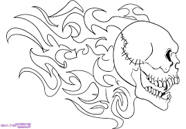Drawing skulls step by step hd how to draw flaming skull stepskulls drawing skulls step by step hd how to draw flaming skull stepskulls pop culture free