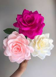 Rose Paper Flower Making Diy Workshop Rose Flower Making Workshop Steadfast Supply