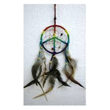 Dream Catchers Where To Buy Rainbow Peace Sign Dreamcatcher Buy online from New Age Markets 96