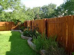 wood fence backyard. Privacy Fence Wood Backyard