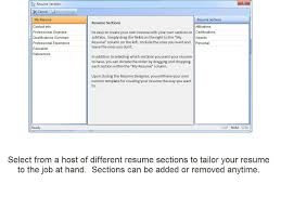 Jobtabs Free Resume Builder Free Download And Software Reviews