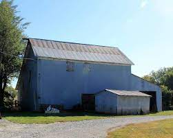 This barn of happy childhood memories is located on the Henry & Elnora Mack  family farm west of Verdon, NE. It is now far… | Family farm, Outdoor  structures, Elnora