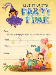 children party invitation templates birthday party invitations templates oddesse info