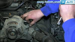 how to install replace remove alternator 2004 07 jeep liberty 2001 Jeep Grand Cherokee Alternator Wiring how to install replace remove alternator 2004 07 jeep liberty youtube 2000 jeep grand cherokee alternator wiring