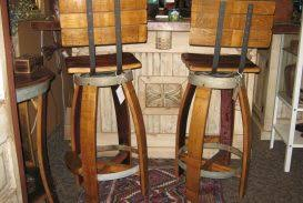 furniture made from barrels. Wine Barrel Swivel Stools Swivels Montana Furniture And Bar Made From Barrels Of Out