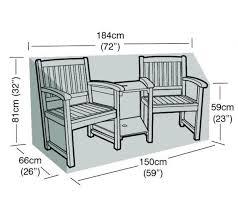 polyester companion seat cover garden