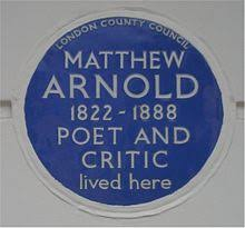 matthew arnold  a london county council blue plaque for arnold at 2 chester square belgravia