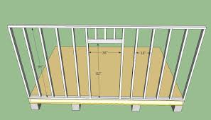 Small Picture Build Your Own Set Of Replacement Wooden Shed Doors Using Shed