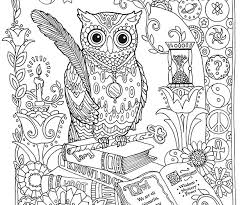 Small Picture Adult coloring pages hard owl ColoringStar