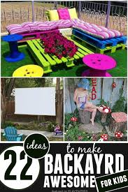 Of Creative Kids Friendly Garden And Backyard Ideas 9Backyard Designs For Kids
