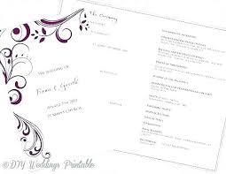 Wedding Booklet Template Free Wedding Mass Booklet Template Catholic Program Word Nuptial