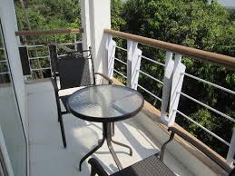 LivingRoom by Seasons: Outside balcony sit out - Decent!