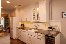 glass cabinet lighting. Kitchen Design Featuring Lights Inside The Glass Front Cabinets. Cabinet Lighting