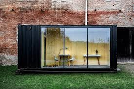 Shipping containers office Metal Compact Office You Can Customize And Install Anywhere shipping container American Trailer And Storage Compact Office You Can Customize And Install Anywhere