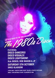 80s Disco Extravaganza The 1980s Disco