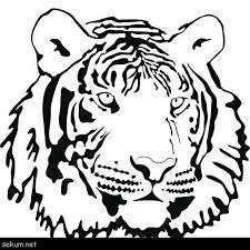 tiger head coloring page tiger face coloring page coloring coloring pages tiger free