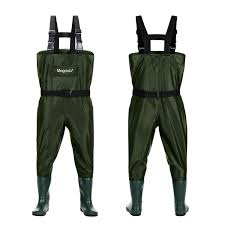 White River Waders Size Chart Magreel Kids Chest Waders Waterproof Nylon Pvc Youth Waders With Boots Fishing Hunting Waders For Toddler Children Boys Girls Army Green Age