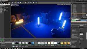 Unreal Engine Build Lighting Lighting With Unreal Engine 4 Episode 10 Creating Light Rods