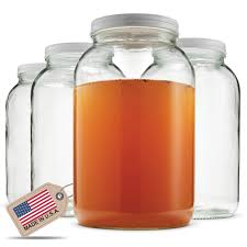 Cheap canning jars Walmart Paksh Novelty 1gallon Glass Jar Wide Mouth With Airtight Metal Lid Usda Approved Bpafree Dishwasher Safe Mason Jar For Fermenting Kombucha Kefir Amazoncom Best Rated In Canning Jars Helpful Customer Reviews Amazoncom