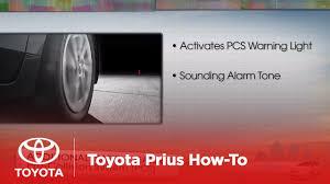 Prius Pcs Light 2012 Prius V How To Pre Collision System Toyota