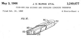 series wiring innovation fascinations burns tri sonic internals burns tri sonic patent diagram